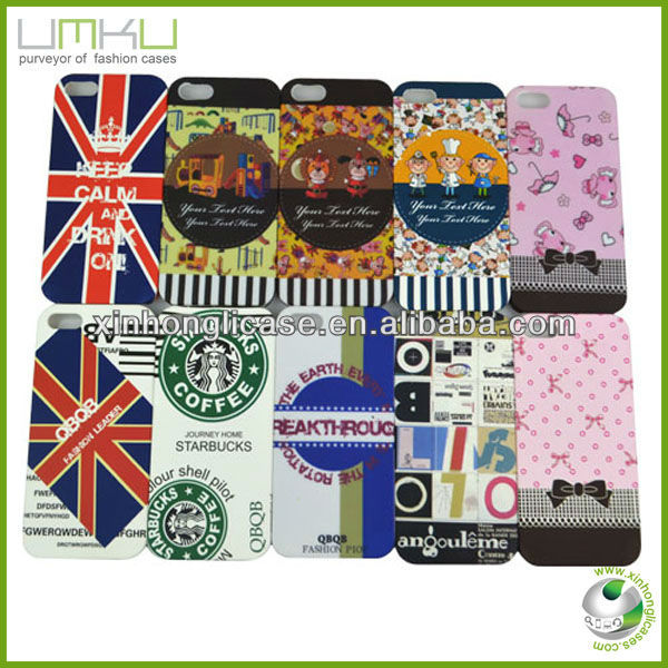 Water transfer printing custom case for iPhone 5
