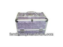Durable purple fashion makeup case(RZ-CC01)
