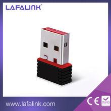 LAFALINK ralink rt5370 150Mbps Mini Wireless USB Adapter, 802.11b/g/n Wi-Fi USB Wireless Network Card for pc
