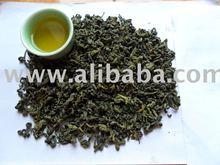 raw dry green tea