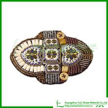 Popular Ladies Beautiful Beads Sandal Shoe Ornament