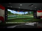 HANARO 3_Sided Screen Golf Simulator
