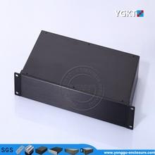 aluminum electric enclosure box for Network video converter Power Meter Industriment