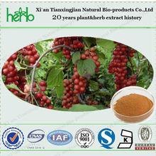ISO,BV,KOSHER certificate Factory Supply High Quality Natural Schizandra extract powder Schisandrin 9% HPLC