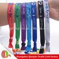 personnalisé matériel confortable bracelet en tissu pour les activités