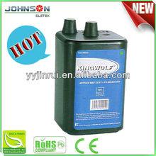 6V 4R25 Carbon Zinc high capacity battery