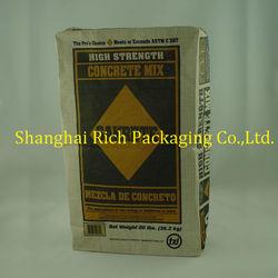 3 layers kraft cement bag 36.2kg