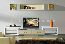 2013 european tv stand is made by E1 MDF board with color painting