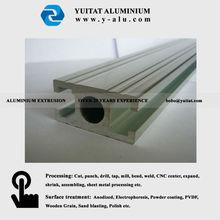 Aluminium industrial profile in anodized color