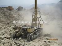 SKL100 track mounted blast hole drill rig