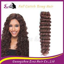 Noble hair styling Cambodian deep wave hair 8''-30'' mindreach hair