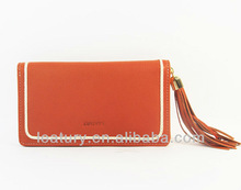 New designer fashion zipper lady genuine leather wallet,genuine leather handbag