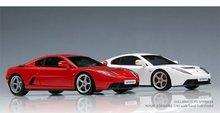 Resin scale model car