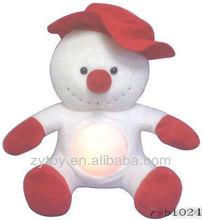 Novel wholesalestanding plush snowman