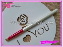 sable hair angled makeup eye brow brush , eyebrow makeup brush