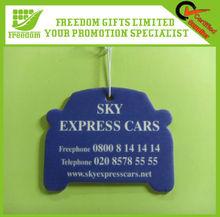 Customized Promotional Make Hanging Paper Car Air Freshener
