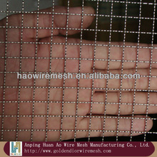 High quality galvanized crimped wire mesh for airdrome