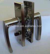 plating aluminum door handle