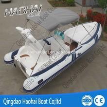 24ft rigid inflatable RIB fiberglass diving boat