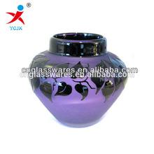WHOLESALE PURPLE GLASS VASE