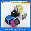 Micro SD card slot speaker Music Angel Speaker MD08D with LCD Screen FM Radio TF card speaker