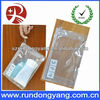 New design hot sale clear plastic PVC Bag with zipper and handle