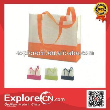 fashion colorful non woven shopping bag