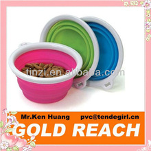 Foldable Silicone Pet Travel Bowl & Pet Feeding Tools