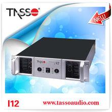 TASSO I-12 pro audio sound crown power amplifier china (CE,RoHS)