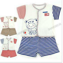New Infant Baby Set Sweet Clothes suits 3-12 Months Short Sleeve T-Shirt + Pants Set11328