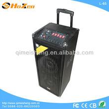 powerful portable speaker with usb sd,fm radio,5 band eq,10 inch subwoofer,karaoke,remote control