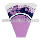 Custom Elegant Printed Plastic Flower Sleeve Bag/ opp plastic packaging flower sleeve bag