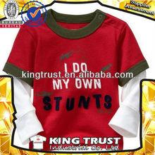 bulk plain children basic brand t-shirt