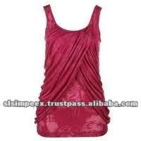 Designer womens Sleeveless t shirt