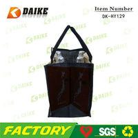 Suppliers Printed Jute Wine Bottle Gift Bag Pattern DK-HY129
