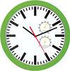 Cheap quartz wall clocks with humidity temperature and humidity wall flip clock