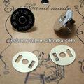 Imanes Permanet cepillado latón imán del botón del bolso