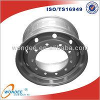 "China Tubeless 22.5"" Custom Semi Truck Wheels"