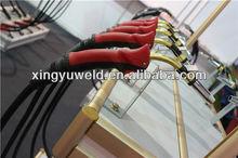 new binzel welding torch, red color torch handle