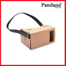 DIY Google Cardboard Cellphone 3D virtual glasses