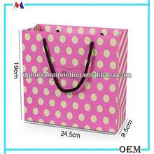 aniversary durable garment bag wholesale/brand paper bag factory