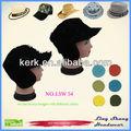 Russo moda uomo cappello nero, caldo cappello di lana, lsw54