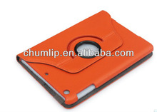 Orange Smart Cover Leather Case For ipad mini