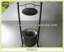 new home decoration rattan willow baskets