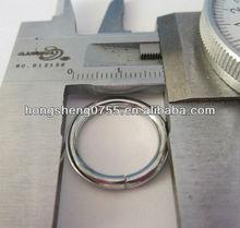 metal o ring for handbag/keychain accessories/metal o ring