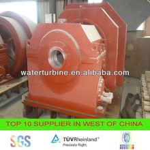 Water turbine generator for power plant
