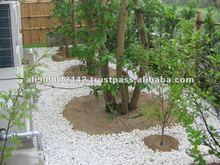 Japanese gravel porous step big sound crime prevention in garden
