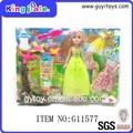 popular boneca da forma plástica