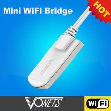 VONETS wifi bridge/wifi repeater 802.11n/wifi tv receiver---VAP11N