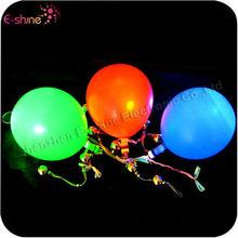 Wedding Decoration Latex Flashing Led Inflatable Party Balloon